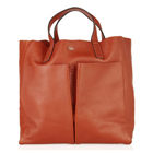 【anya hindmarch】アニヤハインドマーチNevis leather shopper tote レザー ショッパー トート バッグ[a010130315]