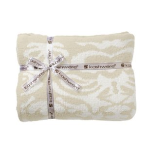 画像1: 【Kashwere】Throw Damask Blanket  ダマスク ブランケット ☆final sale☆