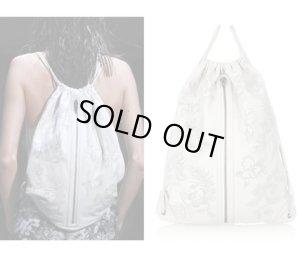 画像1: 【Alexander Wang】Perforated leather backpack バックパック リュック バッグ