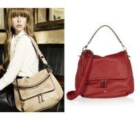 【anya hindmarch】アニヤハインドマーチMaxi leather shoulder bag  レザー トート ショルダー バッグ