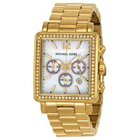 【MICHAEL KORS】Michael Korsマイケルコース Hudson Gold-tone Ladies Watch MK5570☆時計☆