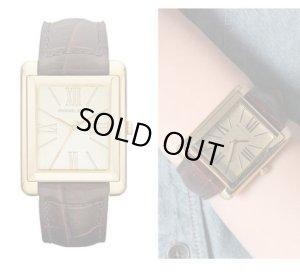 画像1: 【MICHAEL KORS】Rumi愛用ブランド マイケルコース Bradley Leather Watch レザー バンド 腕時計 ☆時計☆
