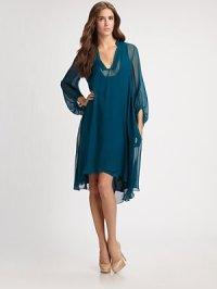 【 DVF】 Diane Von Furstenberg Kipling Chiffon Dress  シフォン ドレス ワンピース