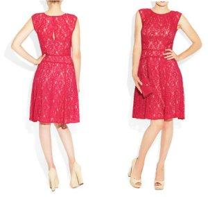 画像1: 【 BCBGMAXAZRIA】 BCBGMAXAZRIA Khloe Floral Lace Dress フラワー レース ドレス ワンピース