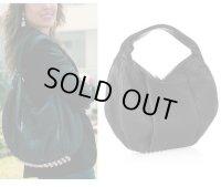 【Alexander Wang】Morgan Studded textured-leather shoulder hobo bag  スタッズ レザー ホーボー ショルダー バッグ