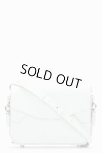 【Alexander Wang】Off-White Rubberized Leather Glow-in-the-dark LYdia Shoulder bag ・
