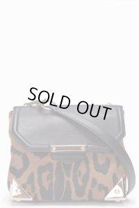 【Alexander Wang】Leopard Calf-Hair Marion Bag・