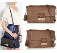 【anya hind march】アニヤハインドマーチTim leather shoulder bag  レザー ショルダー バッグ