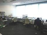 オフィス内の風景