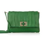 【anya hindmarch】アニヤハインドマーチGracie Mini leather shoulder bag ミニ レザー ショルダー バッグ (グリーン)[a015130315]